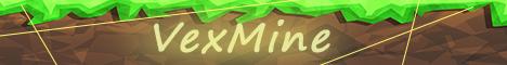 Баннер сервера Minecraft VexMine