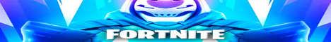 Баннер сервера Minecraft World Fortnite