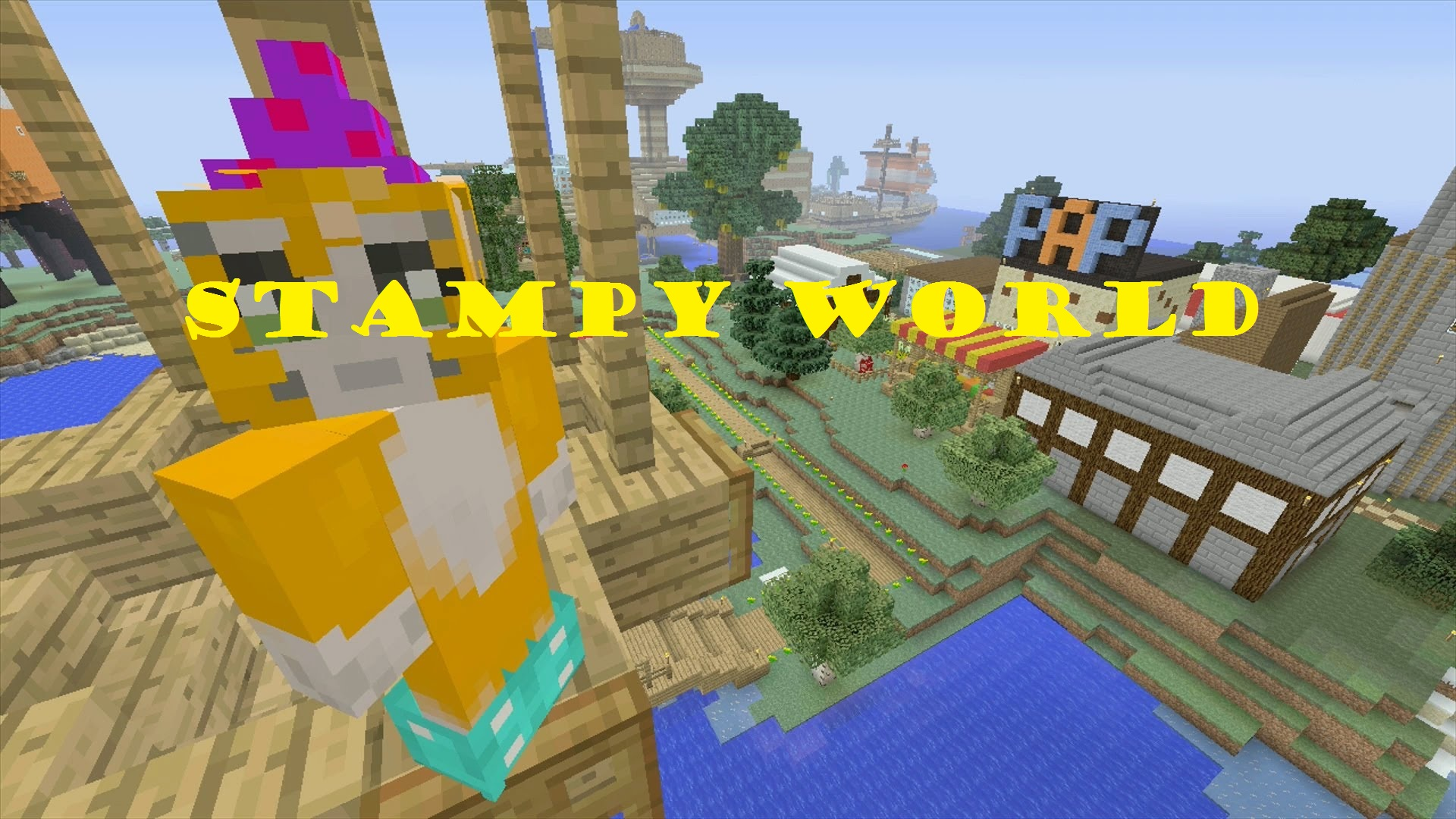 stampy world скриншот 1