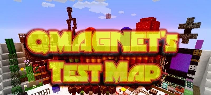 QMAGNET's Test Map скриншот 1