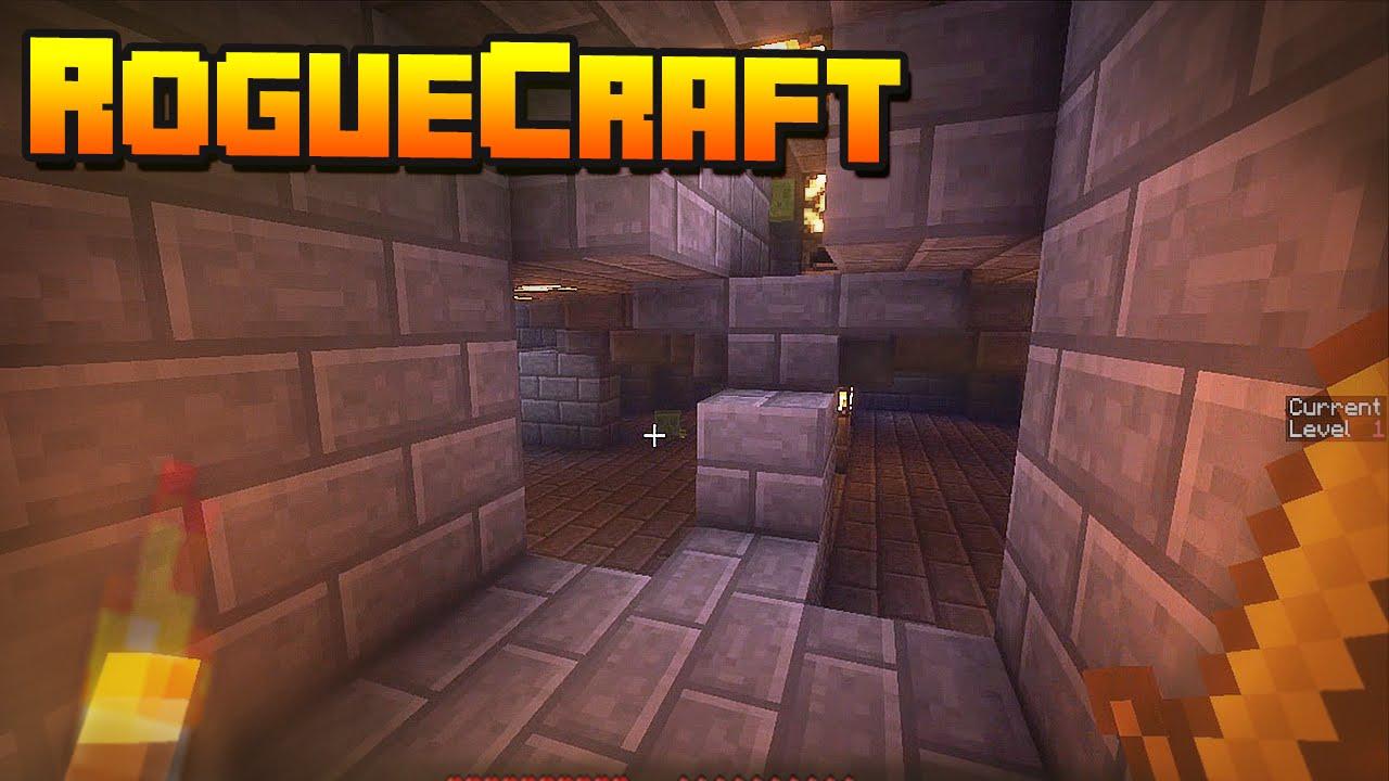 RogueCraft Infinite Dungeon Crawler скриншот 1