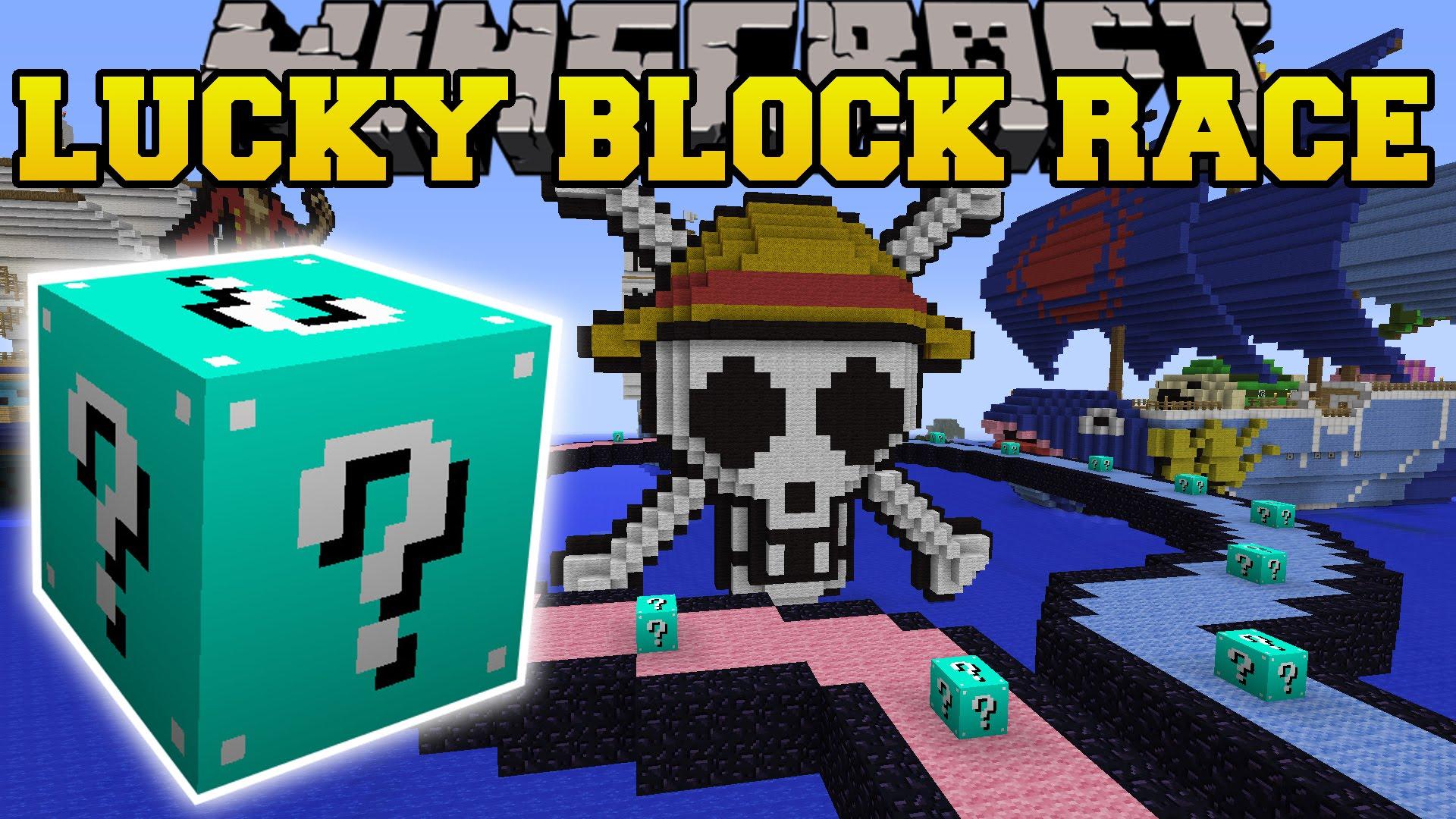 The Luckiest Block - Lucky Block Race скриншот 1