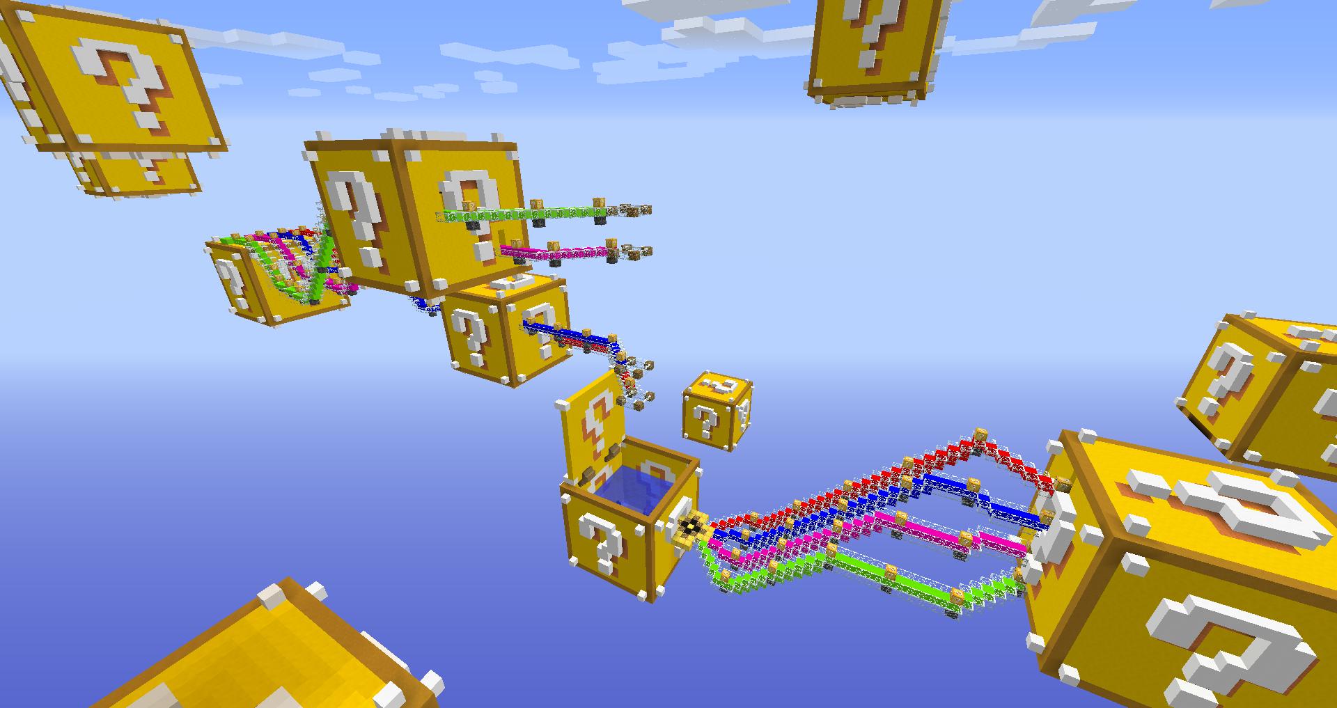 The Luckiest Block - Lucky Block Race скриншот 3