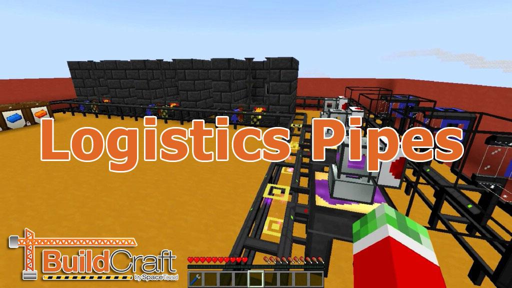 Logistics Pipes скриншот 1