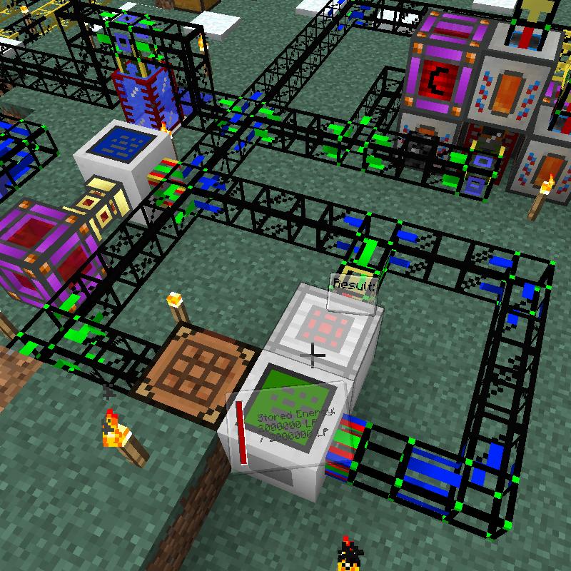 Logistics Pipes скриншот 2