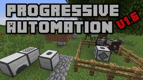 Скачать Progressive Automation для Minecraft 1.10.2