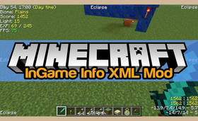 Скачать InGame Info XML для Minecraft 1.8.9
