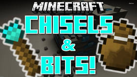 Скачать Chisels & Bits для Minecraft 1.8.9