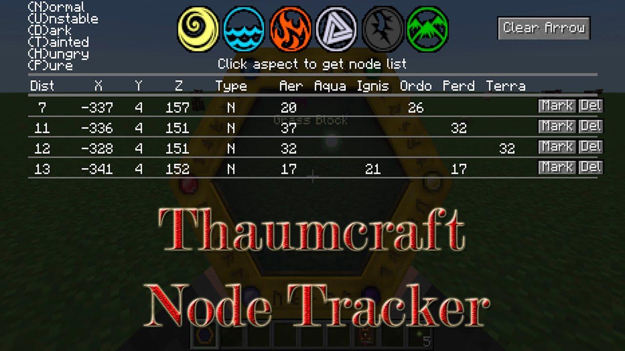 Thaumcraft Node Tracker скриншот 1