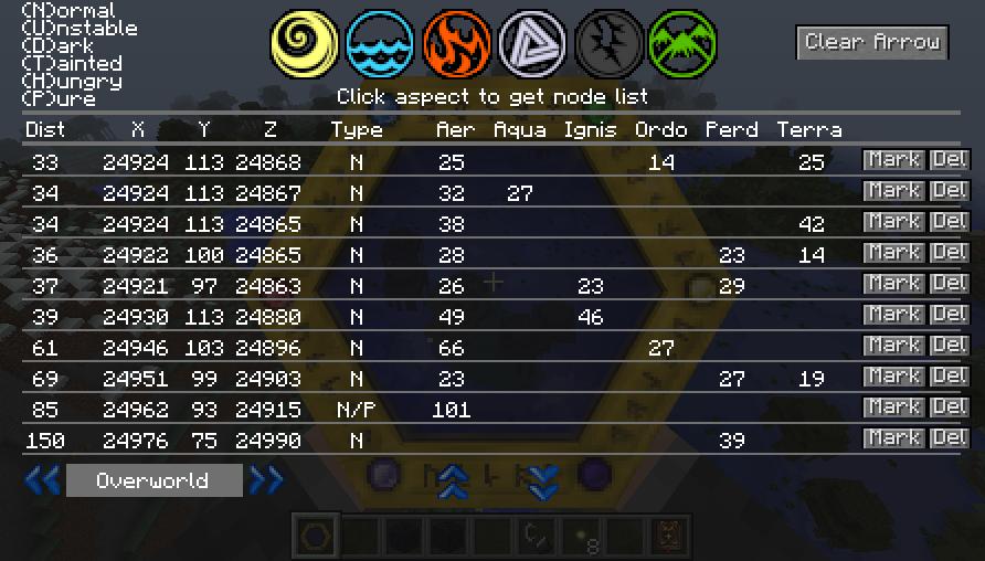 Thaumcraft Node Tracker скриншот 3