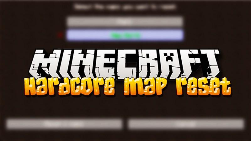Hardcore Map Reset скриншот 1