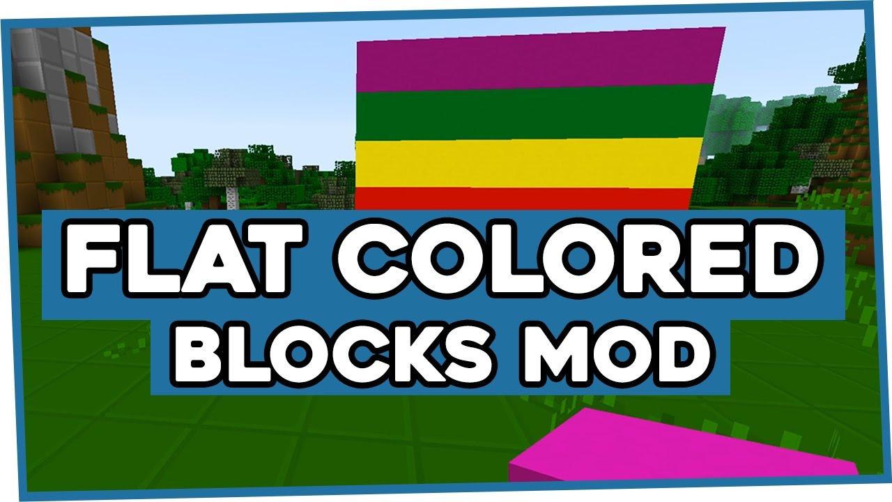 Flat Colored Blocks скриншот 1