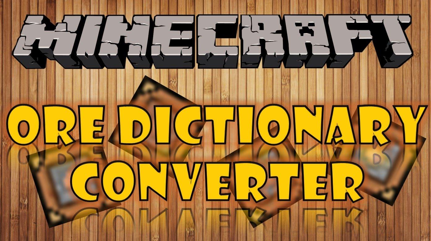 OreDictionaryConverter скриншот 1