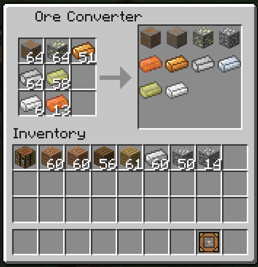 OreDictionaryConverter скриншот 2