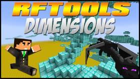 Скачать RFTools Dimensions для Minecraft 1.10