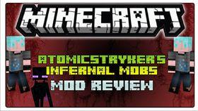 Скачать AtomicStryker\'s Infernal Mobs для Minecraft 1.8
