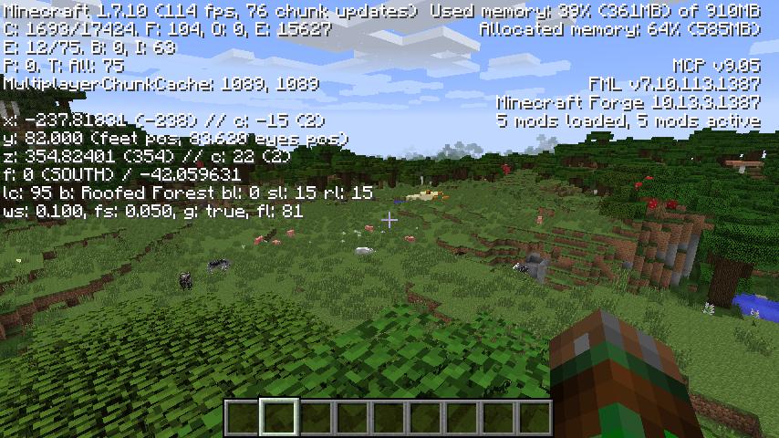 Мод Fps Plus для Minecraft 1.7.10/1.6.4/1.6.2/1.5.2 ...