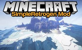 Скачать Simpleretrogen для Minecraft 1.9.4
