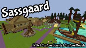 Скачать Sassgaard - Cartoony Norse для Minecraft 1.9.4