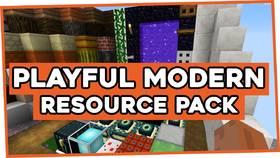 Скачать PLAYFUL Modern для Minecraft 1.8
