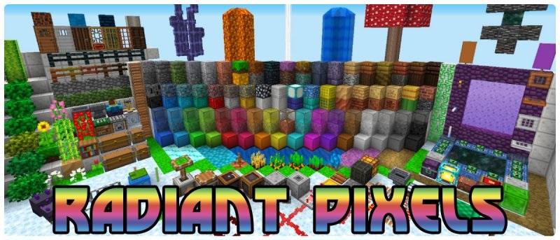 Radiant Pixels скриншот 1