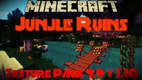 Скачать Jungle Ruins x16 для Minecraft 1.9