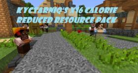Скачать Kyctarniq\'s x16 Calorie Reduced для Minecraft 1.7.10
