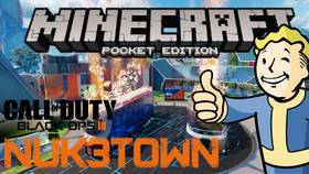 Скачать Call of Duty NUK3TOWN для Minecraft 0.14