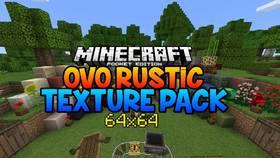 Скачать Ovo's Rustic Redemption для Minecraft PE 0.17
