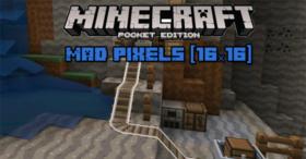 Скачать Mad Pixels для Minecraft PE 1.0
