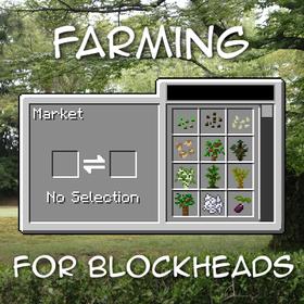 Скачать Farming for Blockheads для Minecraft 1.12
