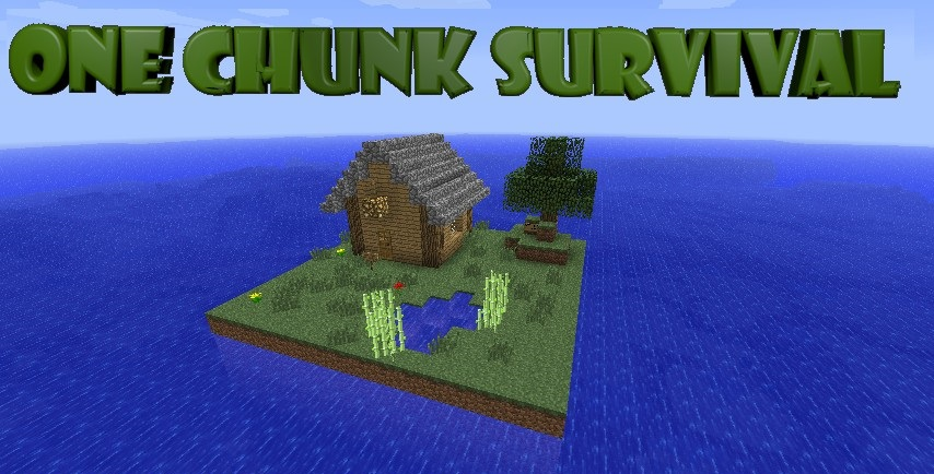 One Chunk Survival скриншот 1