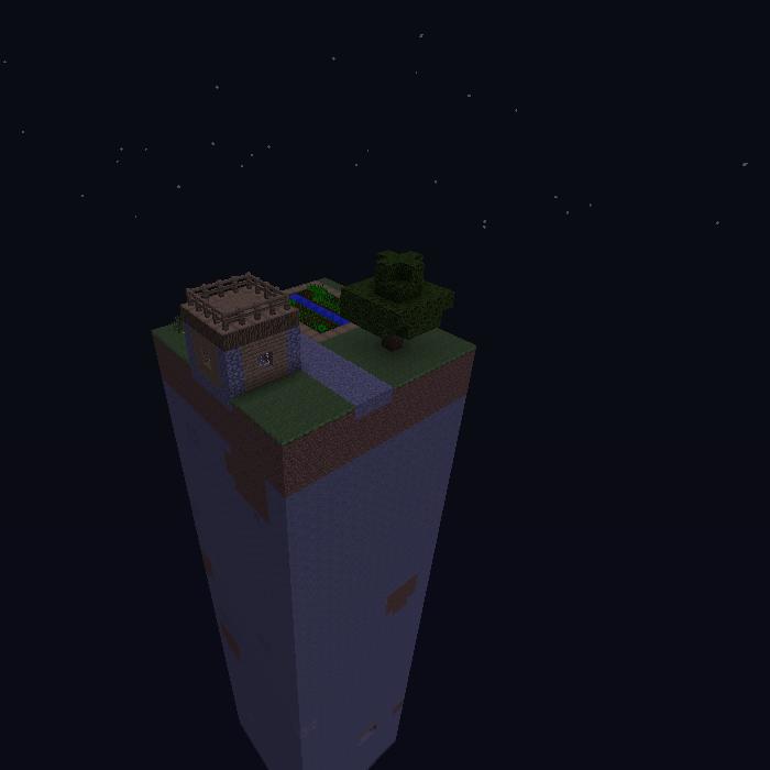 One Chunk Survival скриншот 2