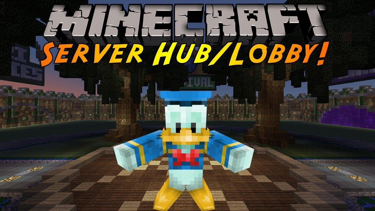 Minecraft Server Hub Lobby скриншот 1