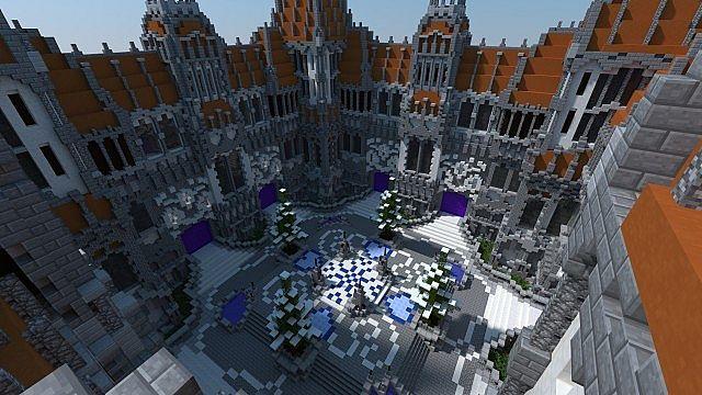 Minecraft Server Hub Lobby скриншот 2