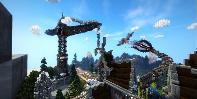 Minecraft Server Hub Lobby скриншот 3