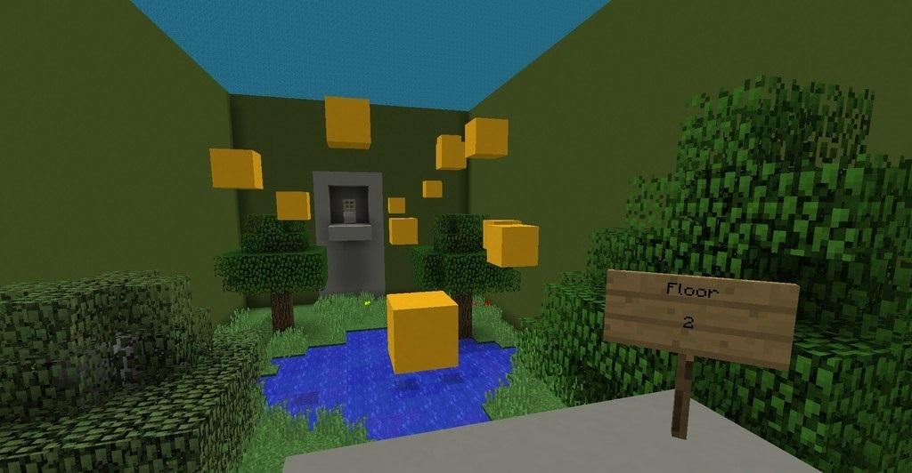 Escape the Void Parkour скриншот 2