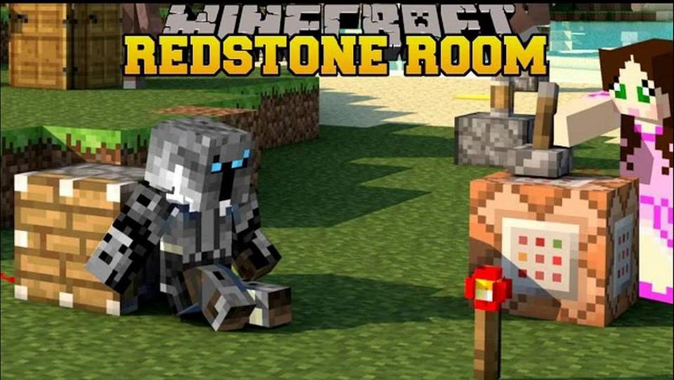 Redstone Rooms скриншот 1