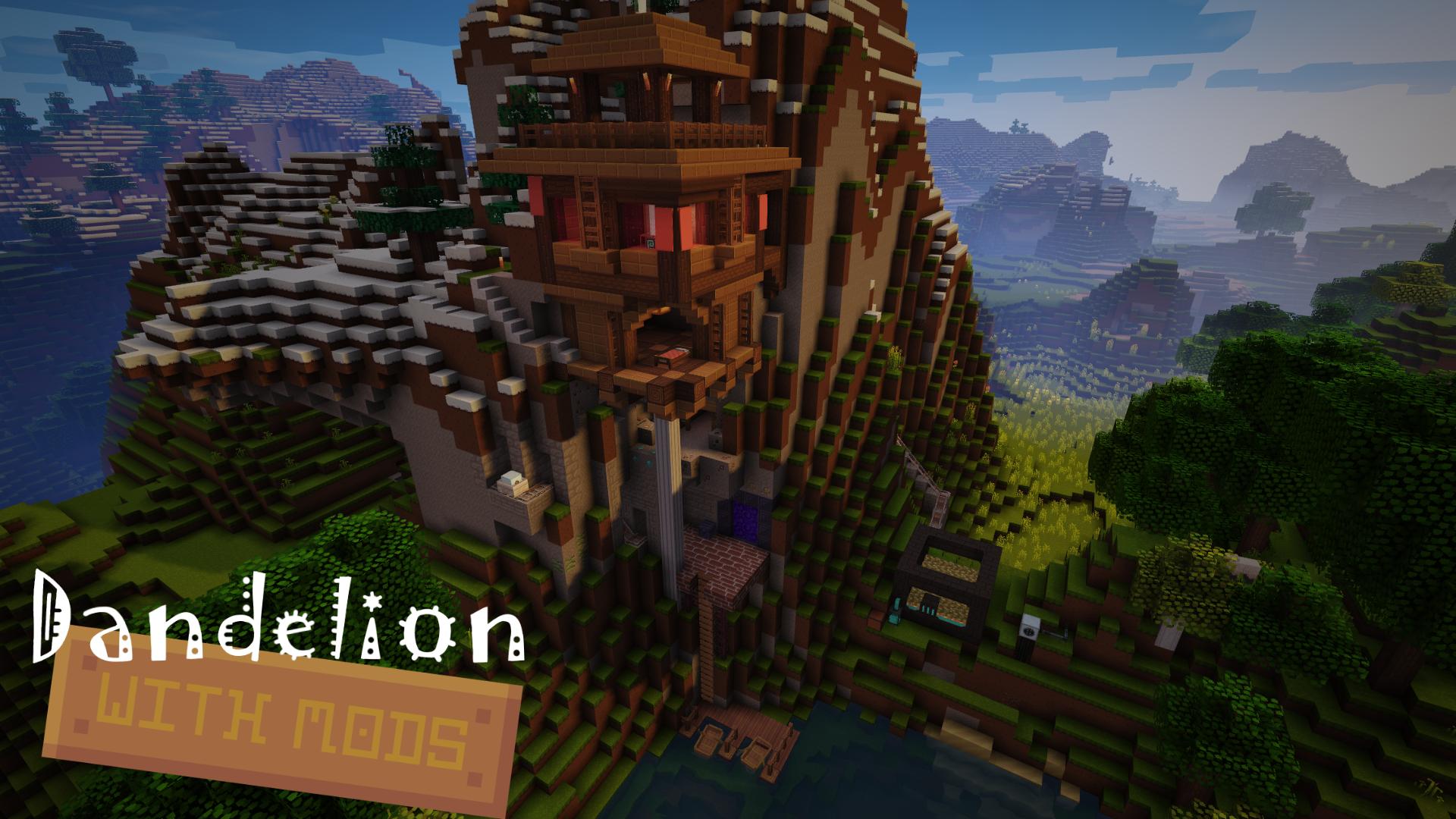 Dandelion With Mods скриншот 1