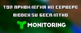 ТОП привилегия на сервере BigDex бесплатно