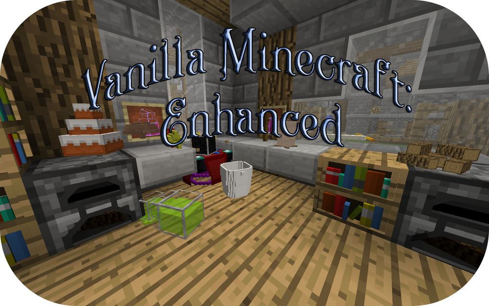 Vanilla Minecraft: Enhanced скриншот 1