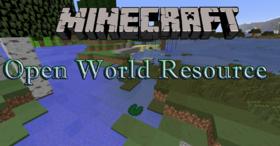 Скачать Open World Resource Pack для Minecraft 1.12.1