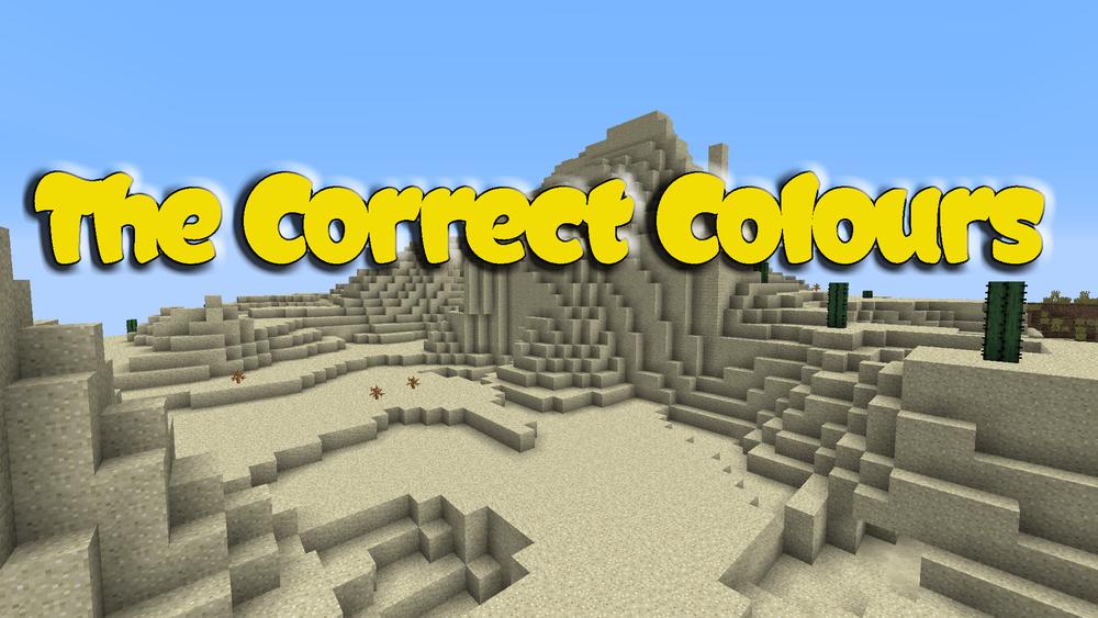 The Correct Colours скриншот 1