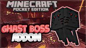 Скачать 3 Headed Ghast Boss для Minecraft PE 1.2