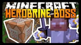 Скачать HerobrineBoss для Minecraft PE 1.2