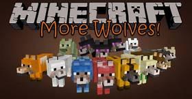 Скачать More Wolves для Minecraft PE 1.2