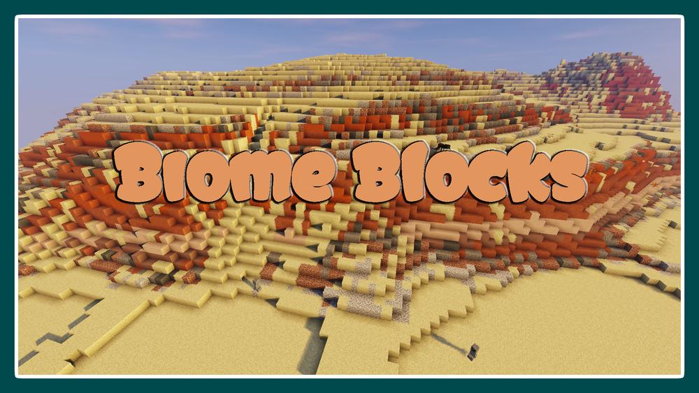 Biome Blocks скриншот 1