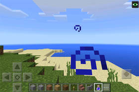 -1436927780: Подводная крепость возле спавна | Сид Minecraft PE