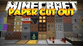 Скачать Paper Cut-Out для Minecraft 1.11.2