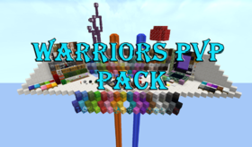 Скачать Warriors PVP Pack для Minecraft 1.12.2